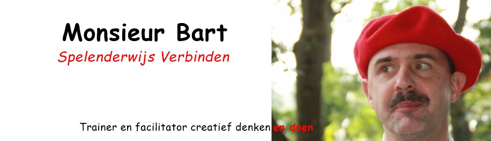 Monsieur Bart – Creativiteitstrainer